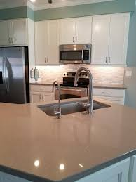 Grey Kitchen Cabinets Black Countertop Rummy Gloss Grey Kitchen
