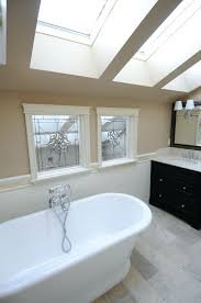 Stand Alone Bathroom Vanity Design Great Freestanding Tubs For Half Wall  Paneling In Fantastic With And Skylight Ceiling Also