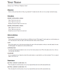 Definition Of Functional Resumes Functional Resume Templates 5 Free Printable Cv Templates