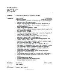 Resume Format Software Engineer Free Printable Software Engineer