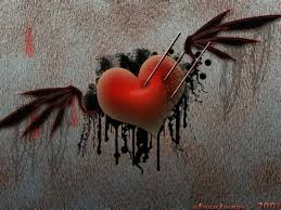 broken hearts with wings hd wallpapers