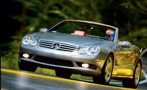 Mercedes-Benz SL55 AMG   Road Test   Reviews   Car and Driver