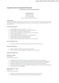 Examples Of Customer Service Skills For Resume Resume Examples For