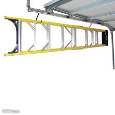 add a hook maximize the storage e under your garage doors by adding on to your existing garage door track with j style hooks like these praxis model