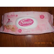 Отзывы о <b>Влажные салфетки Smile</b> New born 0+
