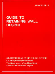 Small Picture Geoguide 1 Guide to Retaining Wall Design Geotechnical