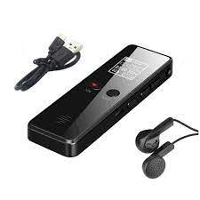 Mã ELMS03 giảm 7% đơn 500K] Máy ghi âm chuyên dụng mini siêu nhỏ DVR 818 - Ghi  âm 35 giờ liên tục
