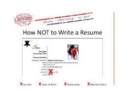 How To Properly Write A Resume Musiccityspiritsandcocktail Com