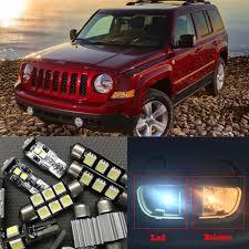 10pcs canbus error free led light bulb kit package for 2007 2016 jeep patriot 12v