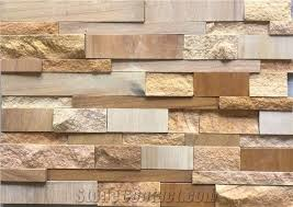 stone wall cladding tile from india