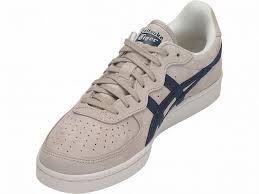 Mens Asics Gsm Sneakers Beige Navy Canada 980ek6