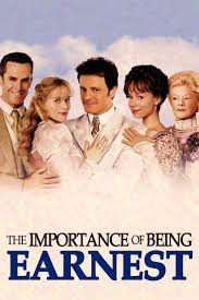 oliver parker the importance of being earnest oscar wilde oliver parker 2002 the importance of being earnest oscar wilde colin firth m267 filmodrom bull posters bull hq colin firth