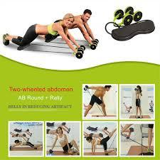 Wheel <b>Ab Roller</b> Double Muscle <b>Trainer</b> Wheel <b>Abdominal Power</b> ...