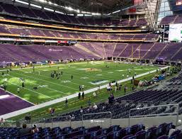 Us Bank Seating Chart Vikings U S Bank Stadium Section 136 Seat Views Seatgeek