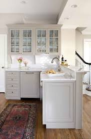Paint Wooden Kitchen Cabinets Grey Kitchen Cabinets With White Appliances White Spray Paint Wood
