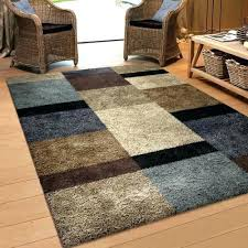 blue and brown rug area rugs cute red intended for remodel 19