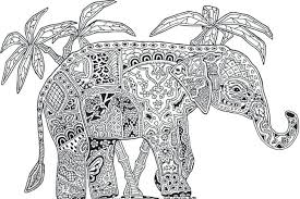 Intricate Animal Coloring Pages Printable Detailed Pdf Online Kids