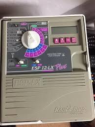 Rain Bird Esp Lx Programming Chart Rainbird Esp 12 Lx Plus 12 Zone Sprinkler Controller Excellent Cond