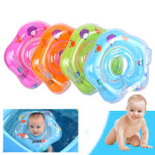ipree inflatable baby infant swimming neck float ring newborn bath pool beach circle