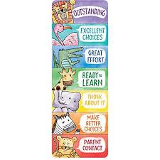 Chart Clip Creative Teaching Press Bookmark Safari Friends Desktop Behavior Clip Charts Ctp 0698 With