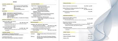 Two Page Resume Cool Awesome Idea Fabulous How To Format A Two Page Resume Sample