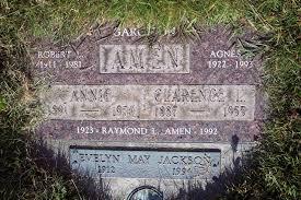 Clarence Leonard Amen (1887-1955) - Find A Grave Memorial