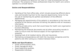 Cna Job Description Resume Cna Job Description Duties For Resume Cna