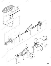 25 hp mercury outboard propeller diagram wiring diagram