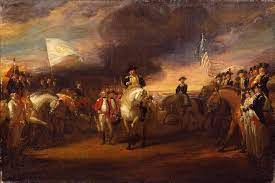 the surrender of lord cornwallis at