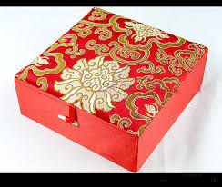 Decorative Gift Boxes With Lids Extra Large Jacquard Dragon Gift Boxes for Bracelet Necklace 32