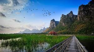 thailand thai hills mountians rock ...