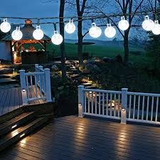 solar garden lights outdoor 50 led 7m