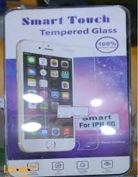 smart touch tempered glass for iphone 6 transpa color