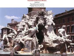 brief biography the baroque sculptor and architect gian lorenzo  6 fountain of the four rivers 1648 51 travertine and marble piazza navona rome