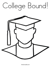 Many of our students are especially pushing the. College Bound Coloring Page Twisty Noodle