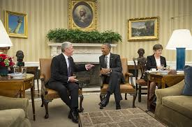 us president office. Federal President Joachim Gauck Meets American Barack Obama In The Oval Office Of White Us S
