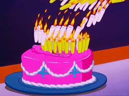 Birthday Candle Gif Disney Alice In Wonderland Cake Disney Gifs