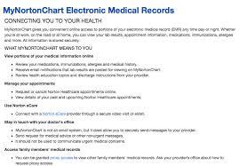 Norton Healthcare My Chart Www Nortonhealthcare Com Mychart Norton Healthcare