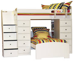 Berg Sierra 22-807-XX Twin / Twin Space Saver with Two Chests and ...