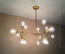 custom made modern contemporary light piano light multiple light edison bulb chandelier lamp