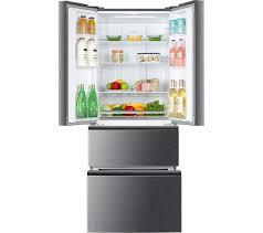 haier stainless steel fridge freezer. haier french style slim side by fridge freezer haier stainless steel fridge freezer i