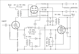 troubleshooting chapter eight faults in vacuum tube circuits schematic diagram