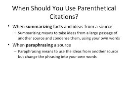 parenthetical citation in mla format cross referencing using mla style