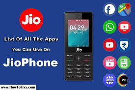 list of all jio phone apps you can