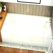 acrylic alcove bathtub a soaking top rated bathtubs