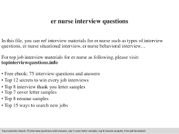 Emergency Room Nurse Resume Template Er Nursing Resume