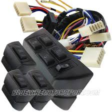 bluewire automotive universal curved glass power window kit 7 Universal Engine Harness at Universal Wire Harness With Electric Windows