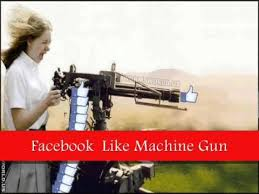 facebook like button machine gun. Wonderful Button With Facebook Like Button Machine Gun H