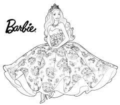 mewarnai barbie gambar
