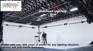 Studio Lighting Grid Design Stage Rental Launchpad Studios United States